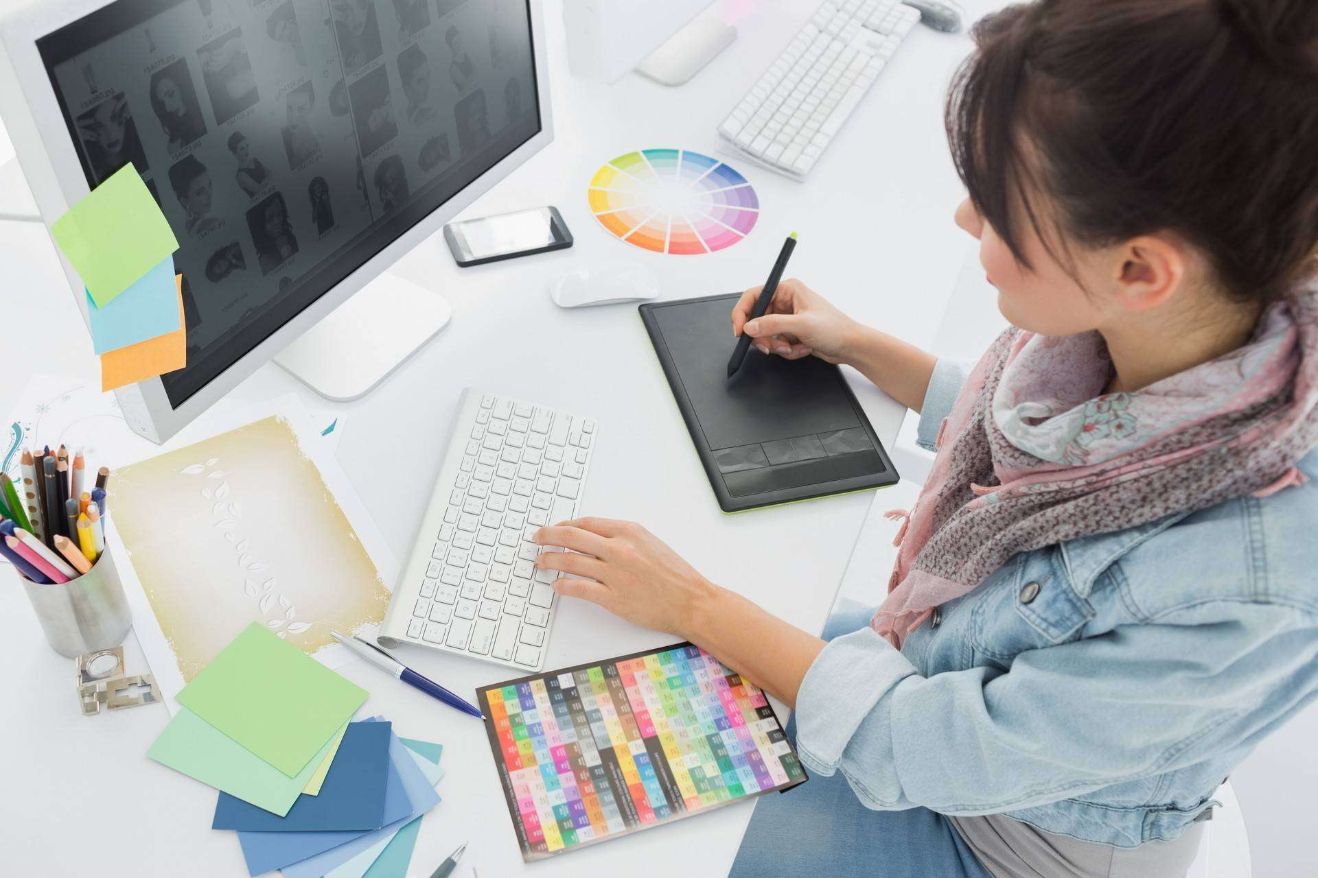 webdesigner poste de travail