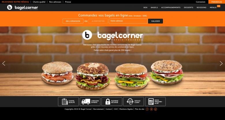 Bagel Corner - Homepage