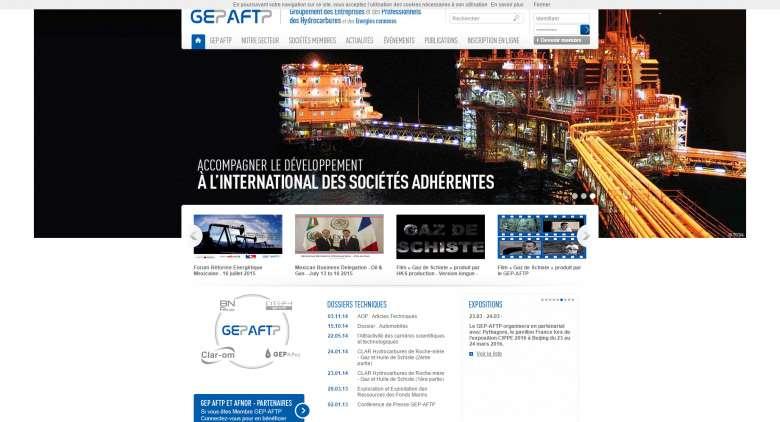 1_GEP-AFTP_Homepage
