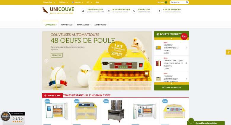 1_Unicouve_Homepage