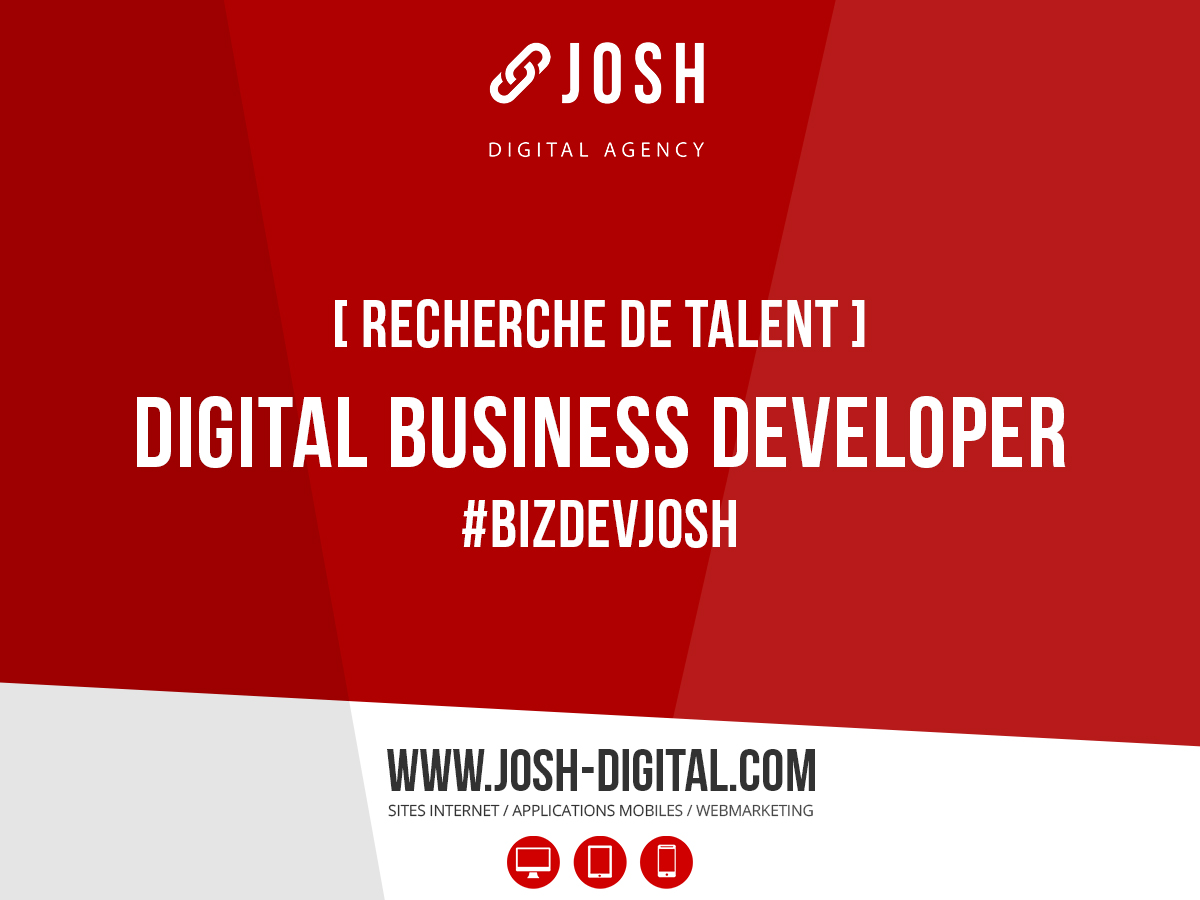 Recrutement : Digital Business Developer (H/F)