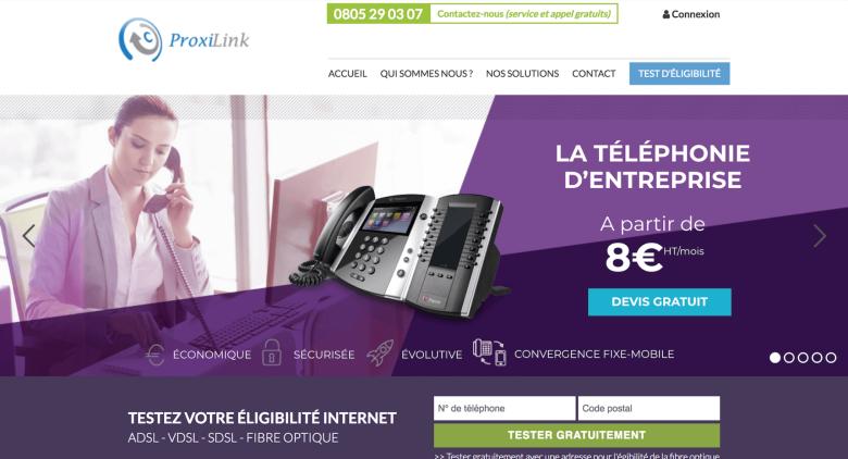 Proxilink, Expert en télécommunications et nouvelles technologies
