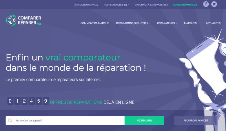 Comparer-Reparer.com, Comparateur de réparateurs high-tech