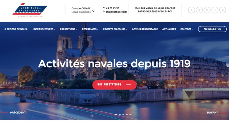Chantiers de la Haute-Seine, spécialiste de la construction navale