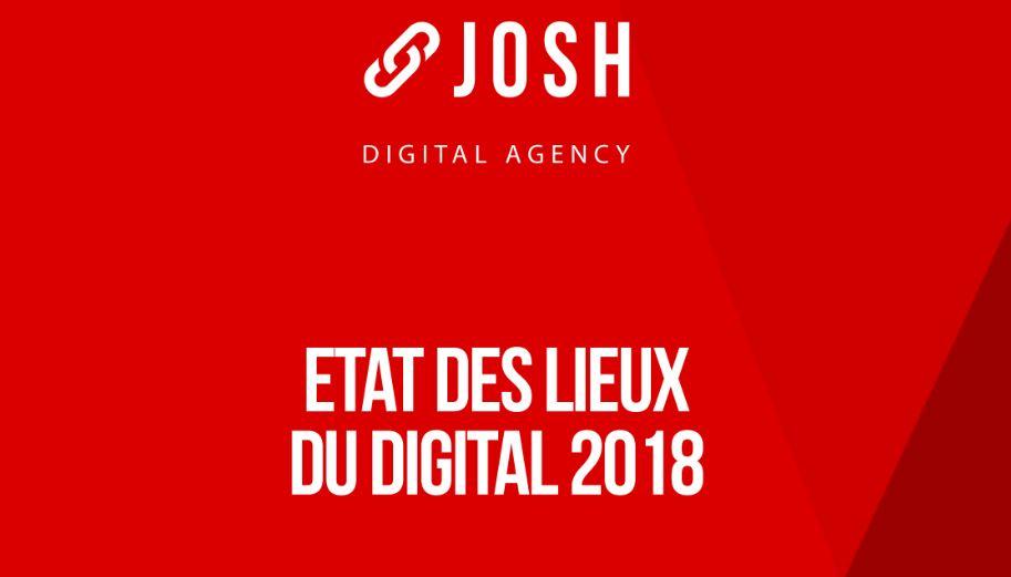 Infographie : état des lieux du digital en 2018