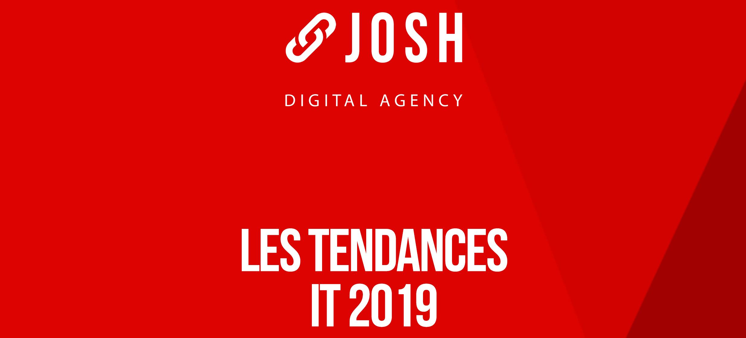 Infographie : les 10 tendances IT 2019