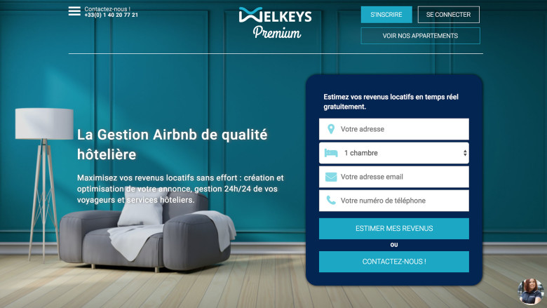 Welkeys Premium, L'application de conciergerie et gestion locative