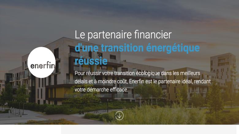 Enerfin, Partenaire financier vos solutions énergétiques