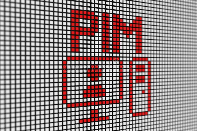 pim-text-scoreboard-blurred-background-d-illustration-pim-text-scoreboard-blurred-background-183130581